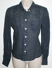 Marc Jacbos Striped Button Down Shirt, Women's Size 4