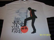 NWOT Vtg Justin Timberlake 2007 Future Sex Love Show concert Large shirt NEW