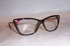 NEW CHRISTIAN DIOR EYEGLASSES CD 3286 6LY HAVANA RED 53mm RX AUTHENTIC