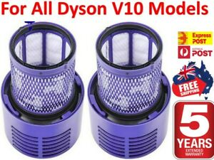 2x  For DYSON Filter V10 Cyclone Animal Absolute Total Clean Washable SV12