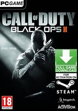 Call of Duty Black Ops II 2 with zombies! PC Steam KEY GLOBAL FAST SENT [NO DVD]