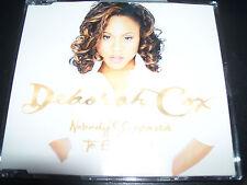Deborah Cox Nobody's Supposed To Be Here Australian Remixes CD Single – Like New