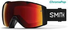 Smith Optics I/O Snowboarding Goggle - Black Frame / Chromapop Sun Red Mirror