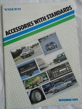 Volvo Accessories brochure Nov 1984 UK market