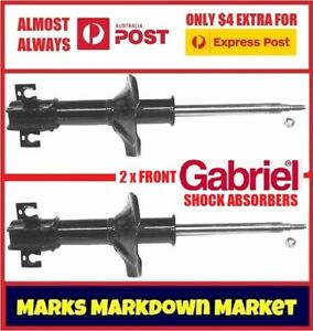 MAZDA 323 FWD 4WD BW WAGON 1986-88 FRONT GABRIEL ULTRA STRUT SHOCK ABSORBERS GAS