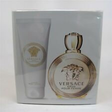EROS by Versace 2 Pc Set: 100 ml/ 3.4 oz EDP Spray & 3.4 oz Body Lotion NIB