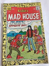 Archie'S Mad House #55 Aug '67 Humor + Sabrina The Teen-Age Witch