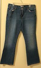 Levi's 515 Women's Jeans Boot Cut Stretch Size 16 Short 16S Medium Wash