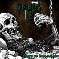 DEMENTIA 13 - Ways Of Enclosure - CD - DEATH METAL