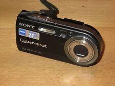Sony Cyber-shot DSC-P150 7.2 MP appareil photo numérique - Noir