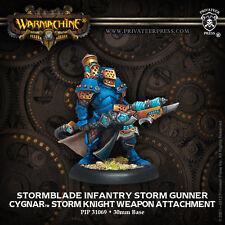 Cygnar Stormblade Infantry Storm Gunner. Warmachine. (G712)