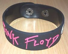 NEW PINK FLOYD MUSIC RUBBER BRACELET WRISTBAND UNISEX BLACK SOUVENIRS WB105