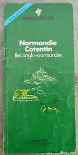 Guide Vert Michelin Normandie Cotentin Iles Anglo-normandes, 1ère édition, 1988
