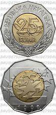 CROAZIA CROATIA - 25 KUNA 1999 - EUROPA