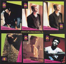 GEORGE MICHAEL Pop Star 1991 Pro Set MUSIC 6 CARDS SET