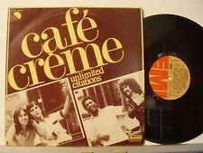"CAFE CREME disco MIX 12"" 45 giri  1977 made in ITALY  Beatles STAMPA ITALIANA"