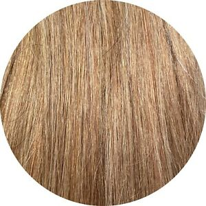 """STICK TIP/I TIP 1G REMY REAL HUMAN HAIR EXTENSIONS SHADE #16 16"""" ITIP STRAIGHT"""