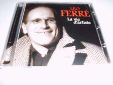 Leo FERRE-LA VIE D'ARTISTE CD-OVP