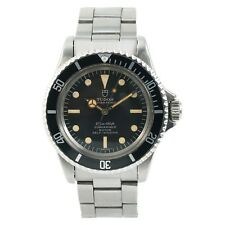 Tudor Submariner 7928 Mens Automatic Vintage Watch Black Dial SS 40mm