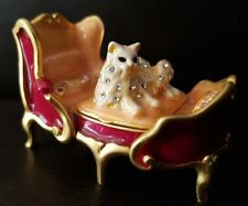 ESTEE LAUDER BEAUTIFUL REGAL KITTY COMPACT FOR SOLID PERFUME - NEW