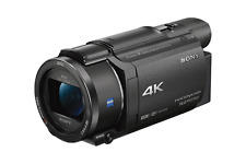 A - Sony Handycam FDR-AX53 Ultra HD 4K Camcorder Balanced Optical SteadyShot
