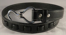 EQUESTRIAN LEATHER BELT Silver Hoof Pick Hardware HANDMADE Women's Horse USA