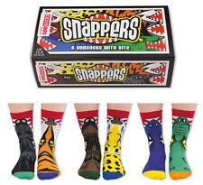 UNITED ODDSOCKS SNAPPERS SIX ODDSOCKS WITH A BITE ODD SOCKS BOYS UK SIZE 12 - 6