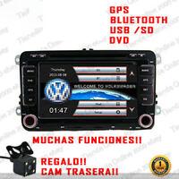 "7"" RADIO NAVEGADOR GPS DVD BLUETOOTH PARA VW GOLF PASSAT SCIROCCO SHARAN JETTA.."