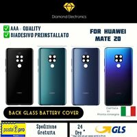 🔝 Vetro Posteriore Scocca Back Cover Huawei Mate 20 + Vetrino Lente Fotocamera