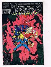 The New Warriors #34 VF Marvel Comics Comic Book Apr 1993 DE40 AD14