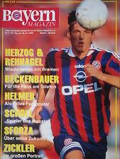 Programm 1995/96 FC Bayern München - Werder Bremen