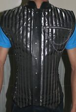 Authentic Steel Boned Waist Training Brocade Overbust  Men Corset