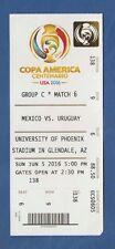 ORIG. biglietto Campionato sud America/Copa America USA 2016 Messico-Uruguay!