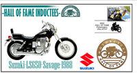 SUZUKI MOTORCYCLE HALL OF FAME COV, 1988 LS650 SAVAGE