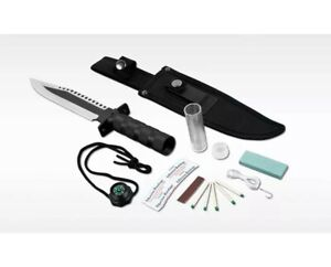 """Whetstone Cutlery 6.75""""Fixed-Blade (13.25"""" total knife length) Survival-Utility"""
