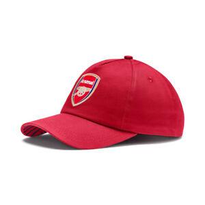 PUMA Arsenal Training Cap Pomegranate/Peacoat 021817 01