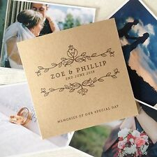 1x personalised 'Memories' CD DVD cover / sleeve for wedding photos video