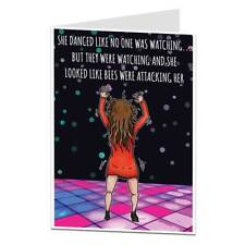 Funny Birthday card For Women Her Perfect For Best Friend Sister Daughter