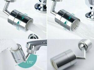 Universal Wasserhahn mit Spritzfilter 720° drehbar Düsenspritze 1-3Stück