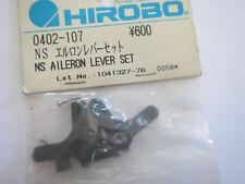 HIROBO 0402 107 NS AILERON LEVER SET  SHUTTLE