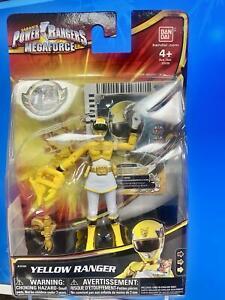Power Rangers Megaforce Action Figure~YELLOW RANGER~ 4 Inch~#35104