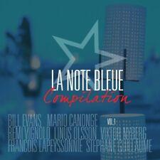 LA NOTE BLEUE COMPILATION VOL,1  -BILL EVANS/MARIO CANONGE/V,,,, CD NEUF