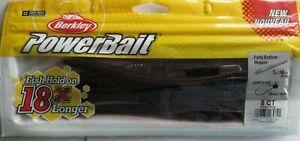 "BERKLEY POWERBAIT Fatty Bottom Hopper - 8/Ct. - 7"" - Plum"