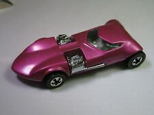 Vintage Hot Wheels 25th Anniversary, Deep Pink/Purple Dual Engine Car 1969
