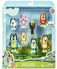BLUEY Family & Friends 8 Pack 2.5 Inch Toy Action Figures BRAND NEW - FREE SHIP!