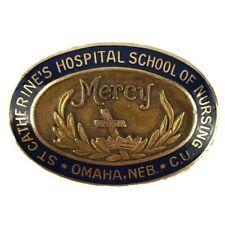 Josten 10K Gold Enamel St Catherine's Hospital School of Nursing Omaha NE Pin