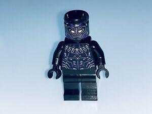 LEGO MARVEL GENUINE BLACK PANTHER MINIFIGURE SPLIT FROM SET 76192 - NEW