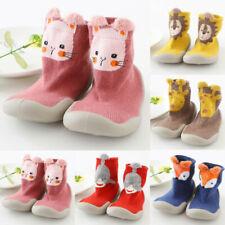 Hausschuhe Socken Kinder Babysocken Gummisohle Babyschuhe Antirutsch Hausschuhe