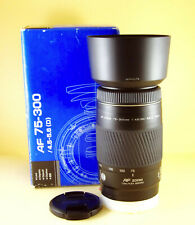 Minolta AF Zoom 75-300mm 1:4,5-5,6 D <=> (same) Sony 75-300mm SAL75300