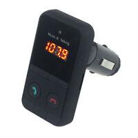 LCD Wireless Bluetooth FM Transmitter Modulator Car Kit MP3 Player SD USB Black